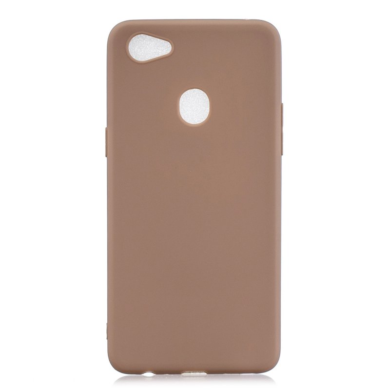 For OPPO F7 Lovely Candy Color Matte TPU Anti-scratch Non-slip Protective Cover Back Case 9