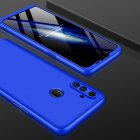 For OPPO Realme C3 360Dgree Full Protection Shockproof PC Phone Back Cover  blue