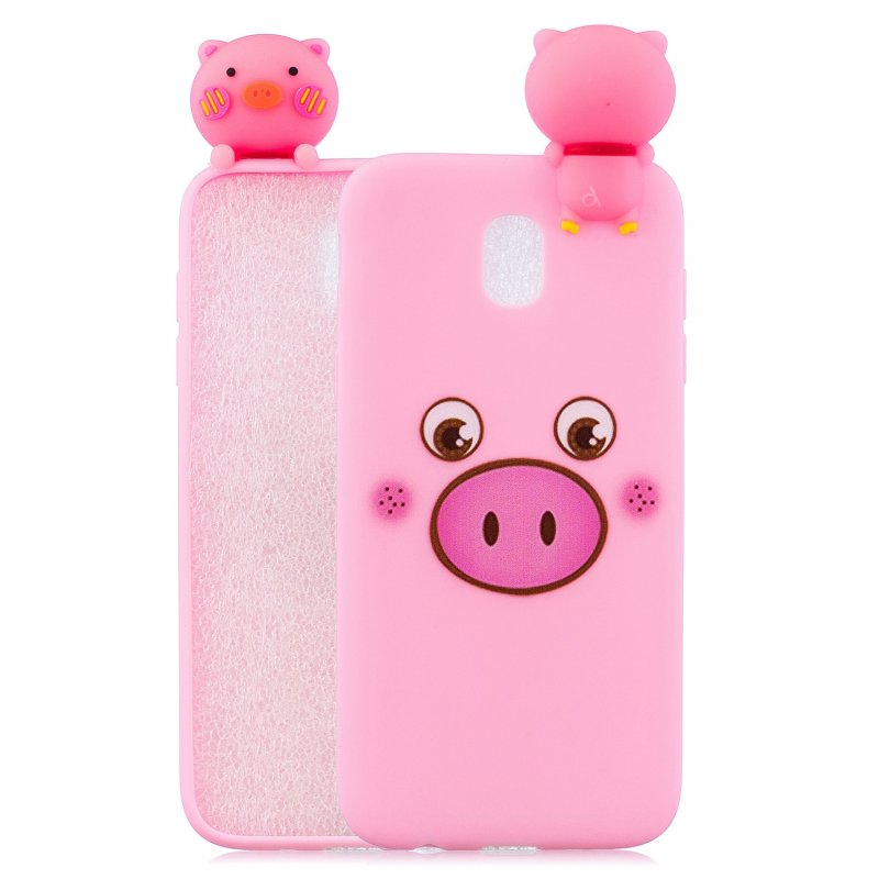 For Redmi 8A 3D Cartoon Painting Back Cover Soft TPU Mobile Phone Case Shell Little pink pig