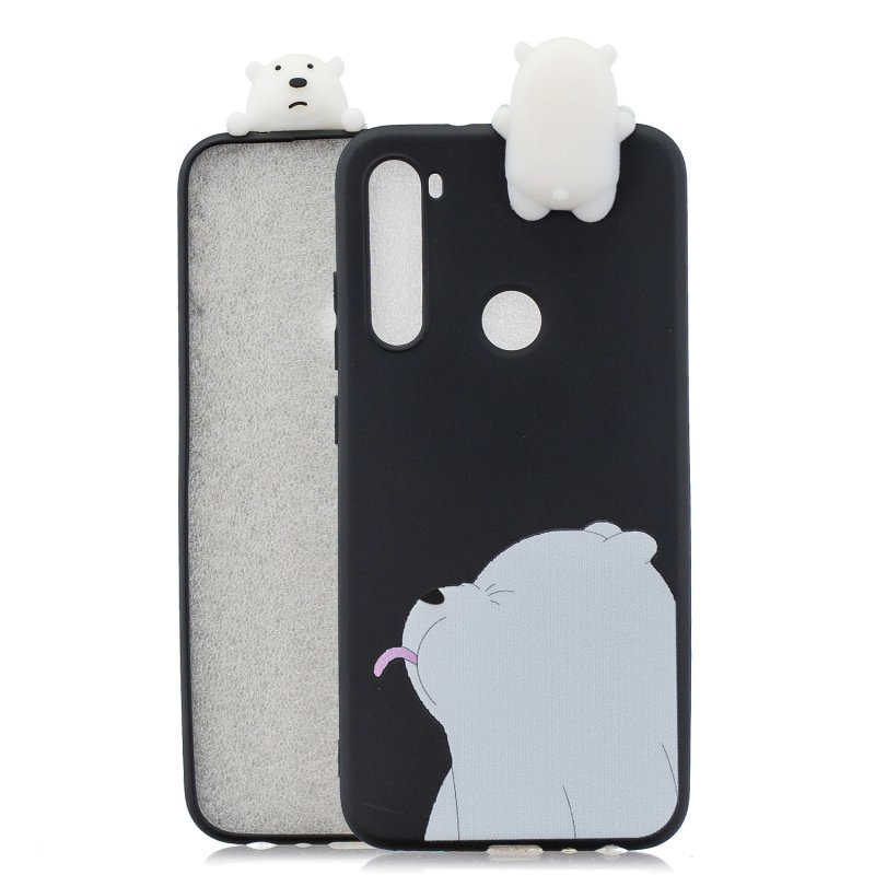 Wholesale For Redmi Note 8 Note 8 Pro 3d Color Painting Pattern Drop Protection Soft Tpu Back Cover Mobile Phone Case Black From China