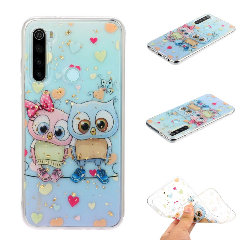 For Redmi Note 8 / Redmi Note 8 Pro Cellphone Cover Beautiful Painted Pattern Comfortable Wear TPU Phone Shell 2