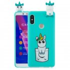 For Redmi note 5 pro 3D Cute Coloured Painted Animal TPU Anti-scratch Non-slip Protective Cover Back Case