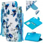 For Samsung A10 A20 A30 Smartphone Case PU Leather Wallet Design Cellphone Cover with Card Holder Stand Available Magic butterfly