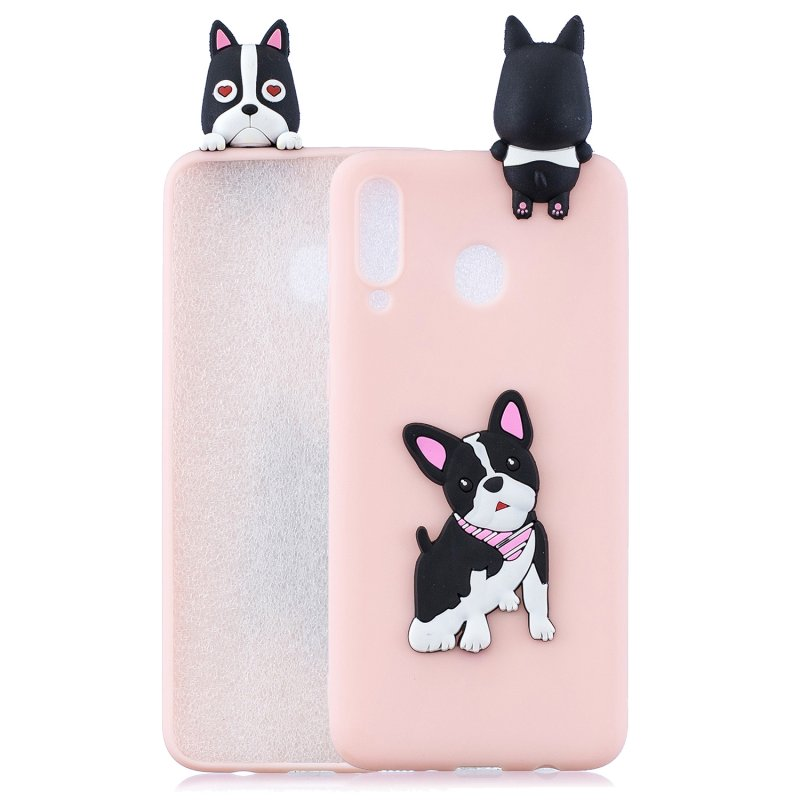 For Samsung A10S/A20S Phone Cover 3D Patch Soft TPU Cartoon Smart Phone Shell Anti-fall Anti-scratch Cellphone Coat Samsung A10S