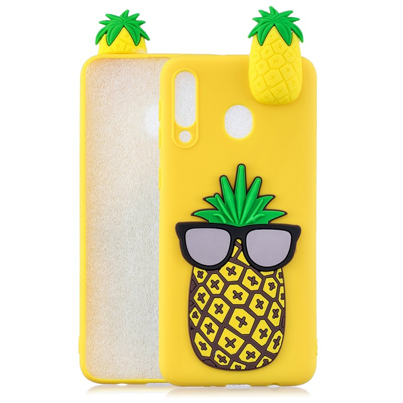 For Samsung A10S/A20S Phone Cover 3D Patch Soft TPU Cartoon Smart Phone Shell Anti-fall Anti-scratch Cellphone Coat Samsung A20S