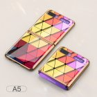 For Samsung Galaxy Z flip Foldable Cellphone Shell Electroplated Painted Folding Phone Case A5