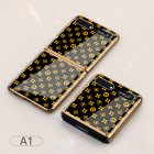 For Samsung Galaxy Z flip Foldable Cellphone Shell Electroplated Painted Folding Phone Case A1