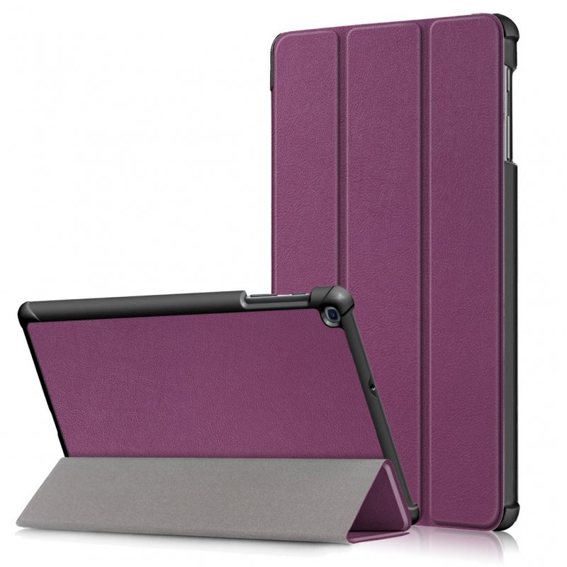 For Samsung Tab A 10.1 2019 T510 t515 Tablet PC Protective Case Flip Type purple