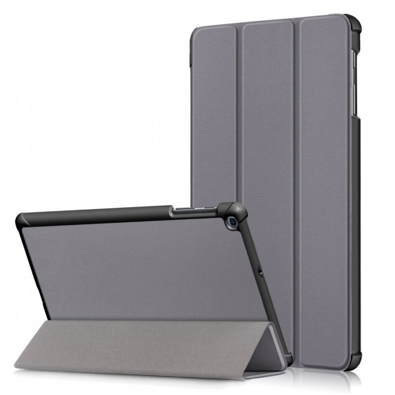 For Samsung Tab A 10.1 2019 T510 t515 Tablet PC Protective Case Flip Type gray