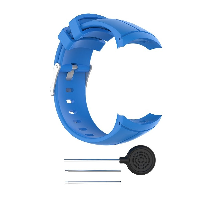 For Spartan Sport Silicone Replacement Wrist Band Strap For Suunto Spartan Ultra Sport Smart Watch Band blue