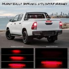 For Toyota Hilux VIGO 2015-2017 Car LED Rear Brake Light Middle Stop Third Tail High Brake Lamp Short red