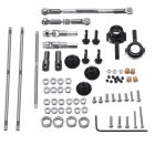 For WPL Upgrade Full Metal Spare Part 6*6 Black Gear Metal OP Accessory for 1/16  6WD B16 B36 RC Car Parts as shown