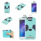 For XIAOMI Redmi 5A 3D Cute Coloured Painted Animal TPU Anti scratch Non slip Protective Cover Back Case Light blue
