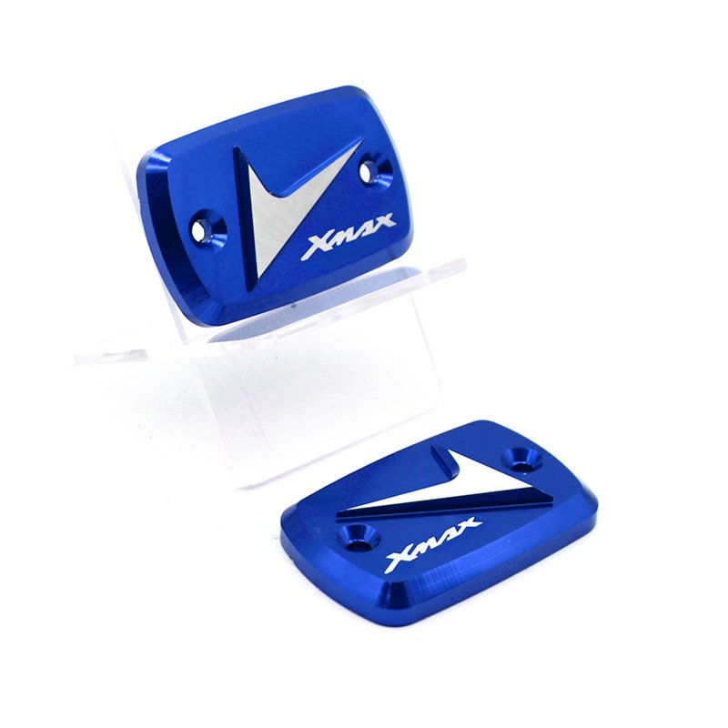 For YAMAHA XMAX300/250/400 Motorcycle Front Brake Clutch Cylinder Fluid Reservoir Cover Protective Cap blue
