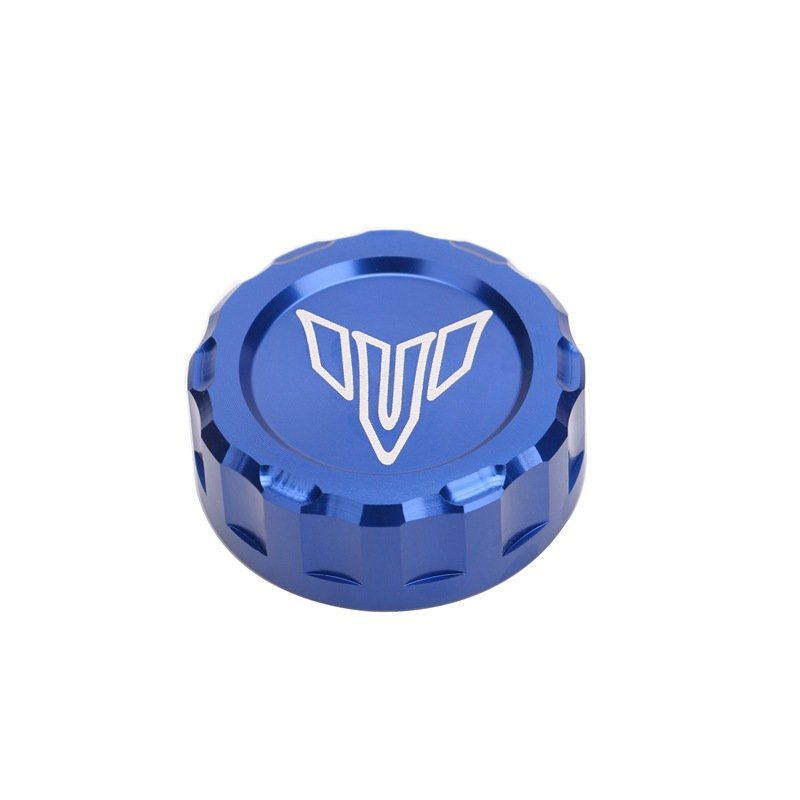For Yamaha MT-09 FZ09 MT07 MT-07 35mm Cool Motorcycle CNC Aluminum Fuel Gas Oil Tank Cap Cover  blue