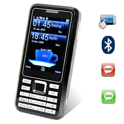 Mister Simple - Quadband Touchscreen Dual SIM Cellphone