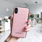 For iPhone 7/8 Exquisite Stone Pattern PC+TPU Anti-scratch Protective Cover Back Case