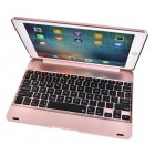For ipad/ air1/2 pro 9.7 Tablet PC Slim Wireless Bluetooth Keyboard Rose gold