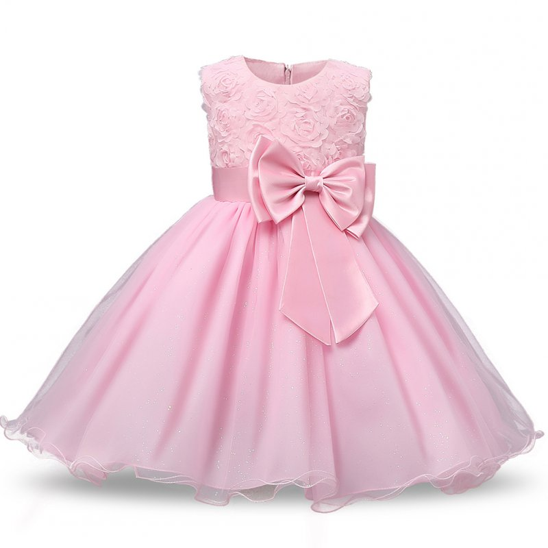 Children Princess Gowns  - Pink 100CM