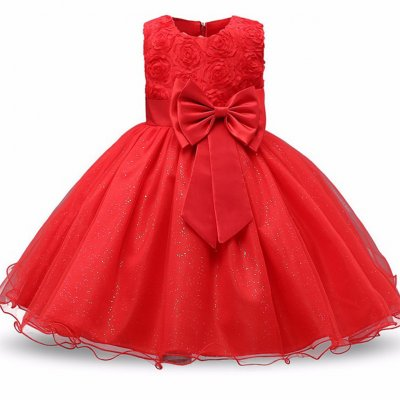 Formal Party Princess Gowns Red 100cm