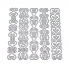 Four Laces Cutting Dies Stencil Metal Mould Template for DIY Scrapbook Album Paper Card Making 2018