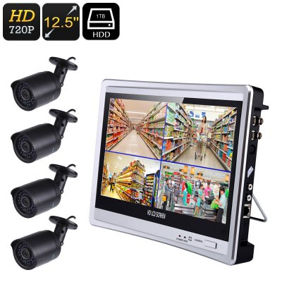 Four Channel DVR System