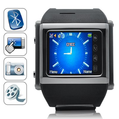 Fortaleza - Quad Band Watchphone in Stainless