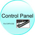 Front Cover Panel for CVFX C02 1 DIN Car GPS   DVD   Bluetooth System