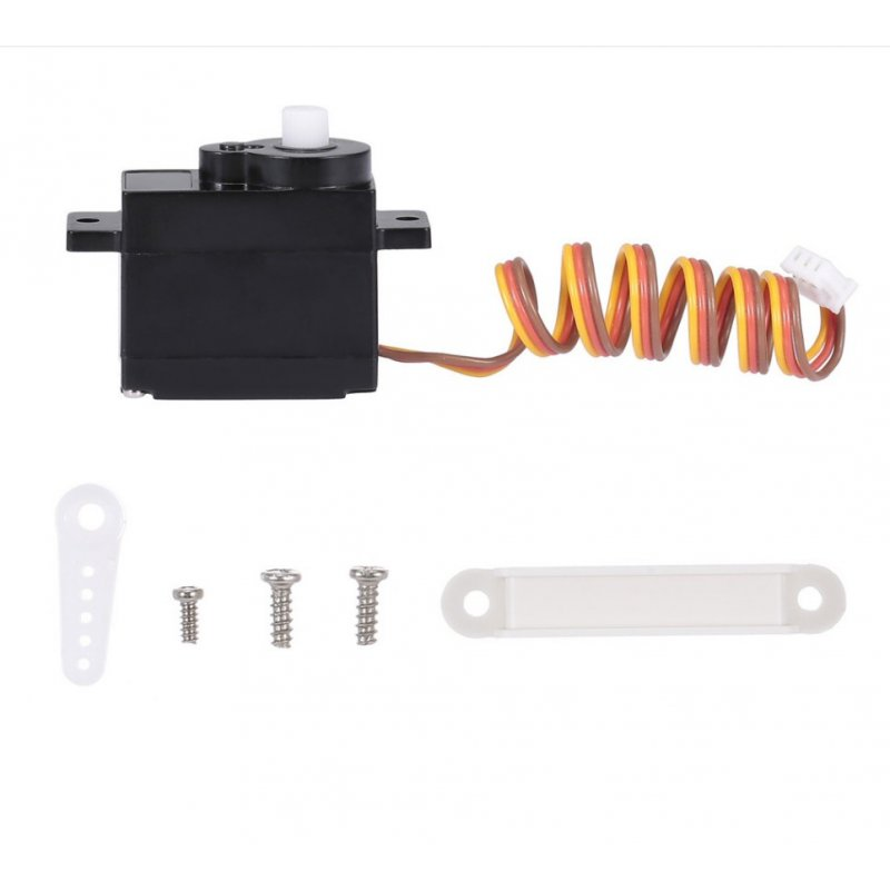 Front Motor Driving Servo for WLtoys XK X450 RC Airplane Aircraft Fixed Wing RC Parts  black