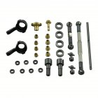 Front Rear Axle Gear OP Metal Upgrade Parts for 1/16 WPL B14 B16 B24 C14  C24 C34 B36 RC Car Parts OP parts for front axle