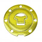 Fuel Tank Cap Decal Pad Sticker Protector for CBR1000RR CBR600 CBR250/400 CBF190R Motorcycle Motorbike  Gold