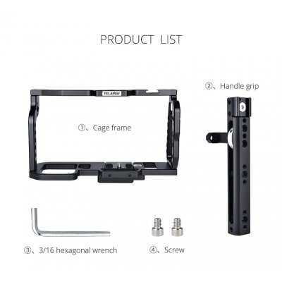 Full Camera Cage for BMPCC 4K/6K Camera Accessories