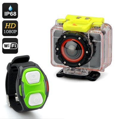 1080p Sports Action Camera 'Scope'