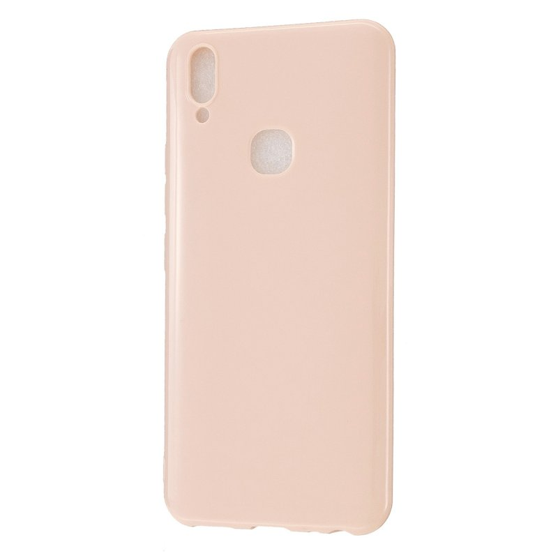 For VIVO Y83/Y85 Cellphone Cover Phone Screen Protector Soft TPU Phone Case Full Body Protection Shell Sakura pink
