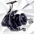 Full Metal Spinning Fishing Reel With Large Spool Aluminum Body Saltwater Spinning Fishing Reel GSB3000