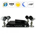 Full Surveillance DVR kit complete with four Night Vision Security Cameras and 500GB hard drive for video recording   This is the ultimate security camera kit t