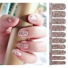 Full Wraps Shinning Nail Stickers Decals DIY Nail Art Stickers for 20 Fingers Normal specifications_#31