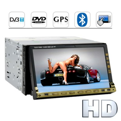 Full Throttle HD Car DVD Player