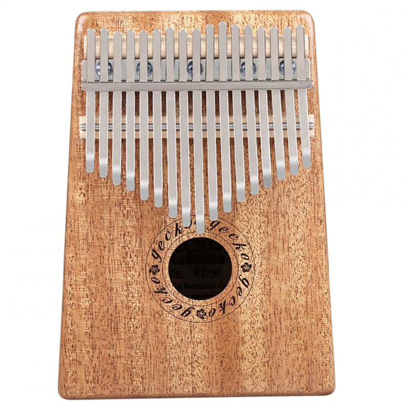 GECKO 17 Key Kalimba African Thumb Piano Finger Percussion Keyboard Music Instruments (with Piano Box)