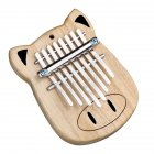 GECKO 8 Key Kalimba Thumb Piano Finger Percussion Music K8Mini
