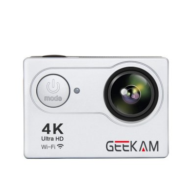 GEEKAM4K H9R 1080P Action Sport Camera Silver