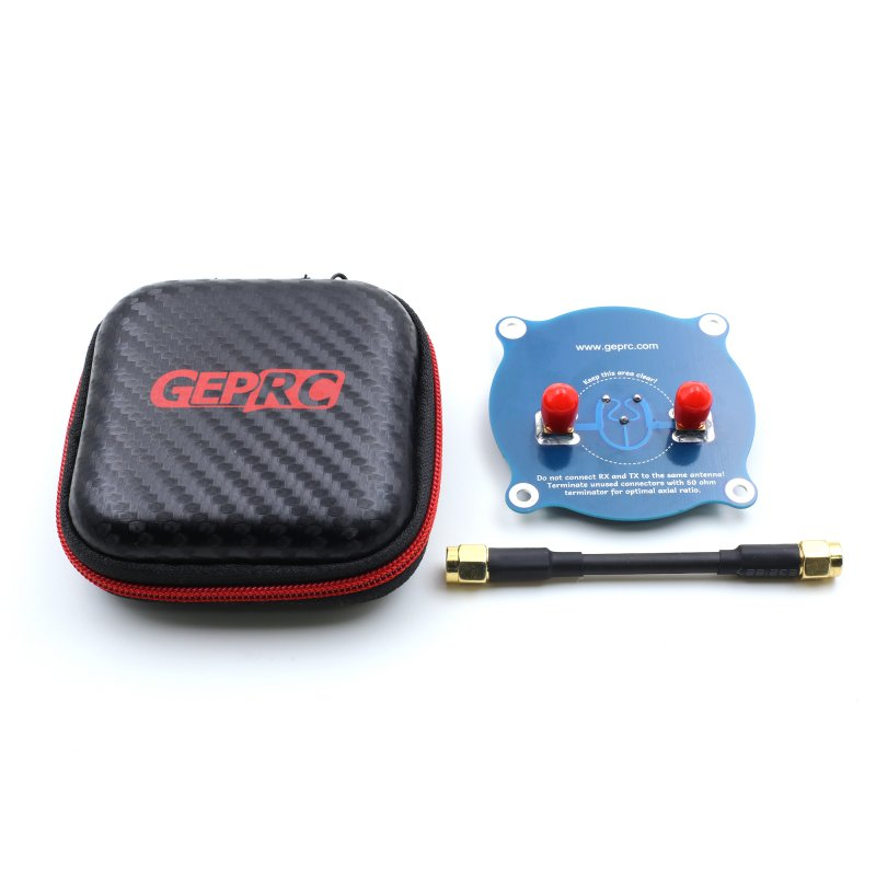 GEPRC 5.8G Triple Feed Patch-1 Rotary Receiver Antenna FPV Directional Omni Flat Panel Antenna SMA Male