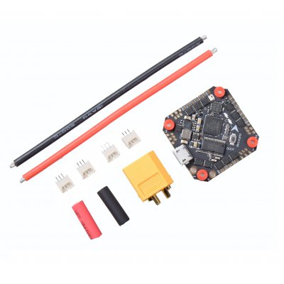 GHF411AIO F4 Flight Controller AIO Betaflight OSD 2-4S BLHELI_S 20A / 30A ESC Brushless for 3-5'' Mini RC Drone Quadcopter 20A KSX3825