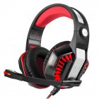 GM-2 Gaming Headset with Microphone Black Red