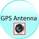 GPS Antenna for CVAU C05 Large 7 Inch Touchscreen Bluetooth GPS Car DVD Player  1 DIN