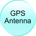 GPS Antenna for CVGX C14 2 DIN 7 Inch Touch Screen Car Media System
