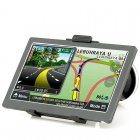 GPS Navigation has a 7 Inch 800x480 Touch Screen  Bluetooth and a FM Transmitter
