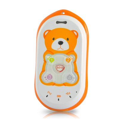 GPS Tracker + Mobile Phone for Kids