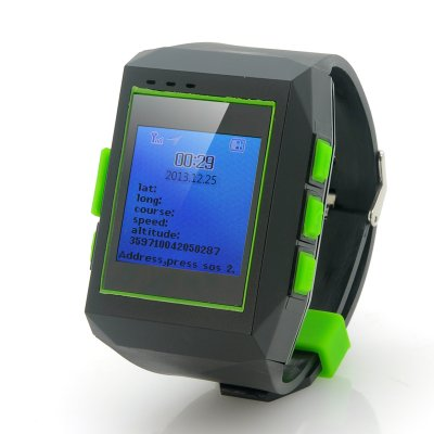 GPS Watch Tracker w/ Phone - Geolock