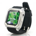 GSM Quad Band Touch Screen Wrist Watch Phone with Android phone pairing and a built in Camera to bring your wrist to life